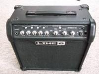 Line 6 Spider IV amp.15 watt modeling amp with lots of