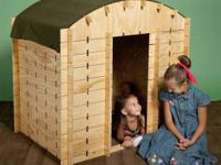 New LinkerLogs sets of interlocking plywood pieces for