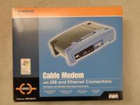 Linksys BEFCMU10 Cable Modem with USB and Ethernet
