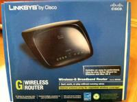 Wireless-G Broadband Router (IN BOX...Like New) 2.4