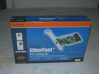 Linksys Etherfast PCI Adapter Card, Brand New Model: