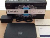 Linksys USB PrintServers & Switches (x3) I'm no longer