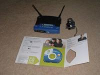 Linksys Wireless-G 2.4 GHZ Broadband Router Router