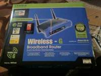 LINKSYS WRT54G Wireless - G Router - sells on