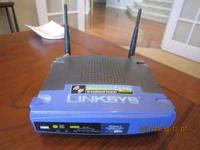 Linksys Wireless G Router - $10 Located in East Aurora