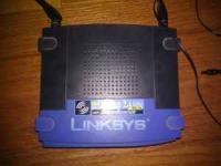 Linksys WRT54GS wireless router with speedboost. no