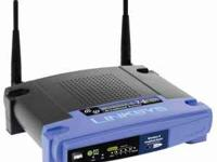I have a working Linksys Wireless G Router comes with