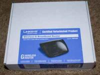 Linksys Wireless-G Router WRT54G2 - refurb. Was opened