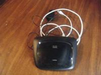 Linksys Wireless N router Model wrt120n used less than