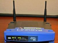 Make: Linksys Wireless G Broadband Router W/ 4 Port