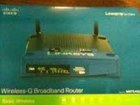 I've got a linksys wrt54gl wireless router that I no