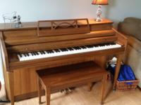 Good condition and great piano for someone learning how