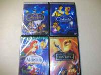 All these DVD classics from Disney. Only $7 per dvd.