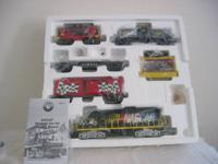 This is a test run Lionel Nascar set in the box. The