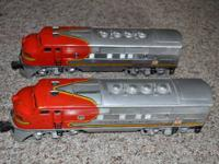 For Sale: Lionel 2343 Santa Fe F-3 double A units.