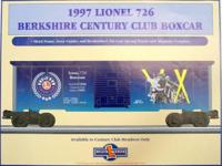Lionel Century Club I. matches the Club's First