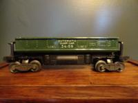 Green 3459 Lionel Automatic Dump Car. I don't know much