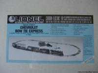 "I have a ""BRAND NEW"" Lionel ""Bow Tie Express"" electric"