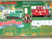 Lionel North Pole Railroad Electric G Gauge Train set