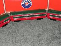 LIONEL NORTH POLE THREE CAR CHRISTMAS PASSENGER SET
