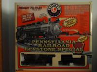 Pennsylavnia Railroad Keystone Special O-Guage Train