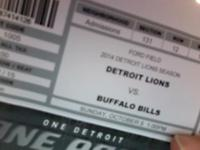 2 tickets in section 131, Row 12 $98.00 eachI am in