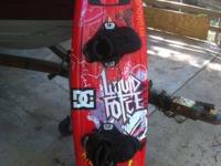 I am selling my liquid force team 143 with liquid force