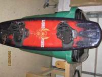Great Wakeboard. Absolutely like new. Used 10 times or