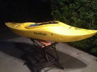 I'm offering my Lil Joe white water kayak as I have