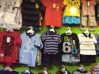 I have a lot of baby and kids clothes all brand new for