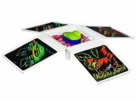 Lite Brite Four Share Dice.  Available at walmart now