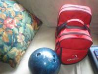 Lite-Dot by Columbia Bowling Ball 10 Pound, with