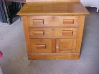 This is a splendid tiny Oak Cupboard or Cabinet or