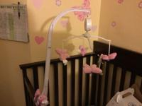 Little bedding butterfly by Mobil for crib $10 Contact