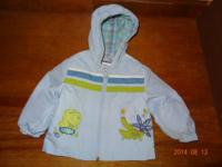 Adorable little boy coat size 3/6 months. Brand name