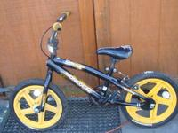 Tough bike with steel frame 16 inch wheels with