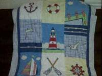 I have a little boys bedding set for sale that includes