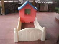little cottage toddler bed by little tikes real cute