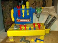 Little fix-it workshop set has many cool tools to go