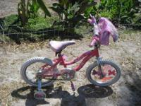 Little Girl's PINK Barbie Bike Super cute with Pink all
