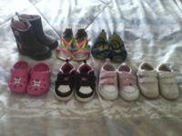 Boots ,sandals and snikers,all size 3 and 4 toddler 252