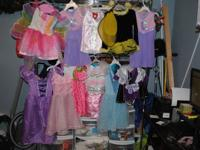 JUST REDUCED $55.00 for All--11 Dress up Outfits