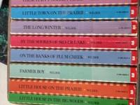 $20 - Little House on the Prairie Books as set only.