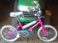 little girls bike,,,, See photo...... 10 bucks