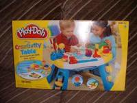 Brand new sealed Play-Doh Creativity Table. Set