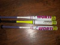 I have several brand new in wrapper baseball bats for
