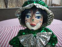 WOULD YOU LOVE TO HAVE A SWEET LITTLE CLOWN DOLL ALL