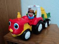 Little People Tractor (FisherPrice), makes noises and