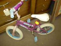 I have a little girls pink bike for sale for $10. If