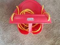 Red Swing $10 Pink Swing $10 Basketball Hoop $10 Baby